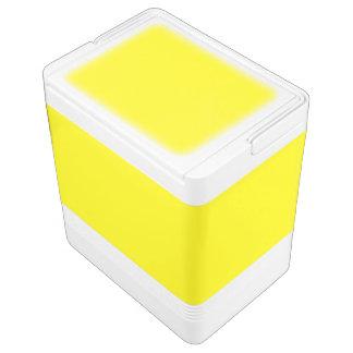 レモン色の(無地のでフルーツのような色の) ~ クーラーボックス