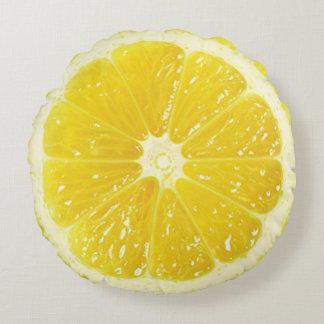 レモン装飾用クッション ラウンドクッション