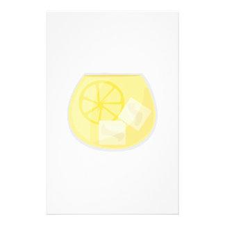 レモン飲み物 便箋