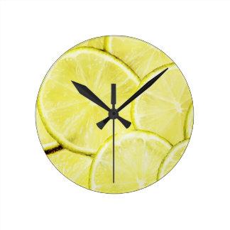レモン2 ラウンド壁時計