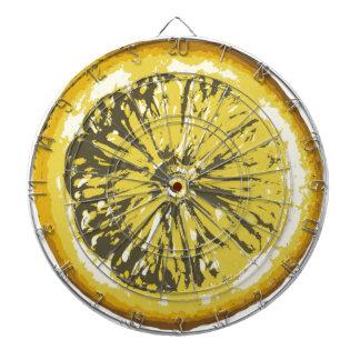 レモン ダーツボード