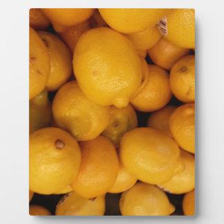 レモン フォトプラーク