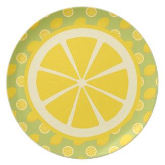 レモン プレート