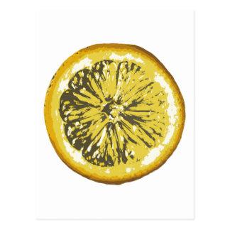 レモン ポストカード