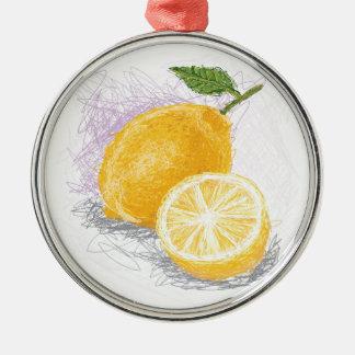 レモン メタルオーナメント