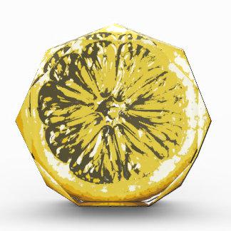 レモン 表彰盾