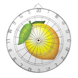 レモン- Emoji ダーツボード
