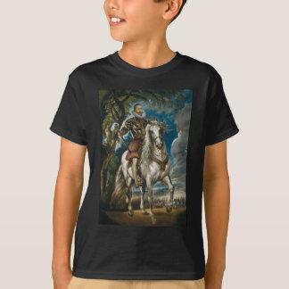レルマの公爵- Rubensの乗馬のポートレート Tシャツ