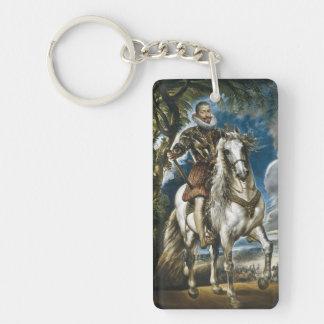 レルマRubensの公爵の乗馬のポートレート キーホルダー