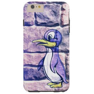 レンガ壁のiPhone 6のプラスの例のペンギン Tough iPhone 6 Plus ケース