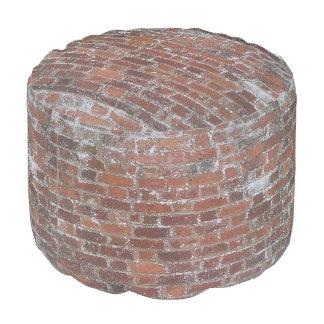 レンガ壁のPouf プーフ