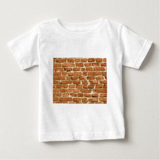 レンガ壁 ベビーTシャツ