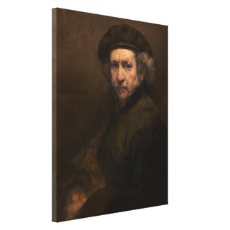 レンブラントの自画像のヴィンテージのファインアートの絵画 キャンバスプリント