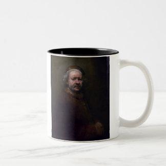 レンブラントの自画像1 ツートーンマグカップ