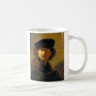 レンブラントの自画像2 コーヒーマグカップ