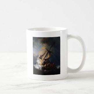 レンブラントガリラヤの海の嵐 コーヒーマグカップ