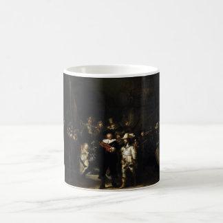 レンブラント著夜警員 コーヒーマグカップ