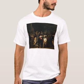 レンブラント著夜警員 Tシャツ