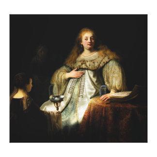 レンブラント(1634年)著Artemisia キャンバスプリント