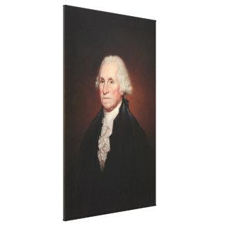 レンブラントPeale著ジョージ・ワシントンのポートレート キャンバスプリント