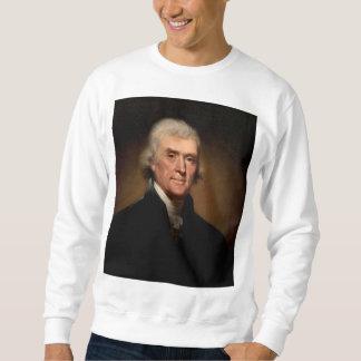 レンブラントPeale著トーマス・ジェファーソン- 1800年頃… スウェットシャツ