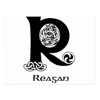 レーガンの姓 ポストカード