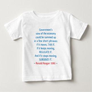 レーガンの引用文 ベビーTシャツ