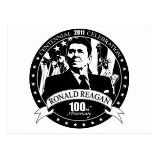 レーガンの100th記念日 ポストカード