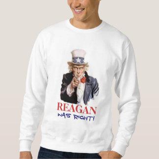 レーガンは正しかったです! 101スエットシャツ スウェットシャツ