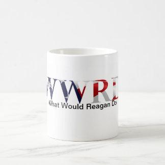 レーガンファンのマグ コーヒーマグカップ