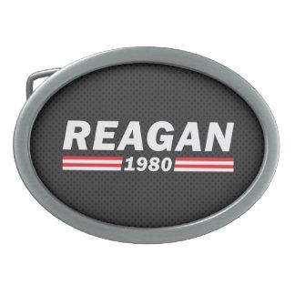 レーガン1980年(ロナルド・レーガン) 卵形バックル