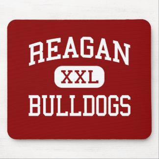 レーガン-ブルドッグ-高等学校-ヒューストンテキサス州 マウスパッド