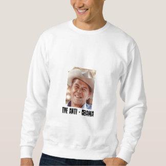 レーガン、反オバマ スウェットシャツ