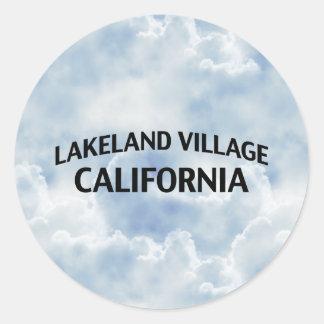 レークランドの村カリフォルニア ラウンドシール