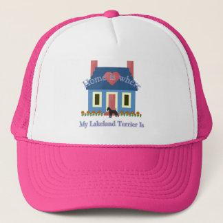レークランドテリアの家はあります キャップ