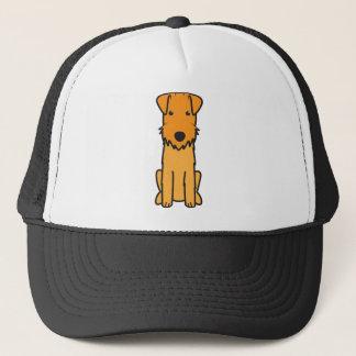 レークランドテリア犬の漫画 キャップ