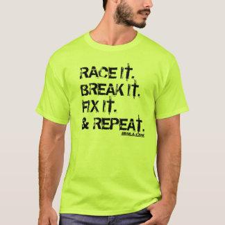 レーサーのための人生のの周期! Tシャツ