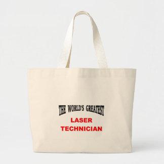 レーザーの技術者 ラージトートバッグ
