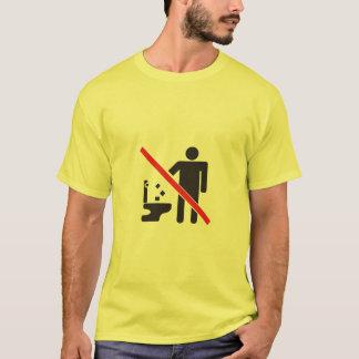 レーザーの洗面所 Tシャツ