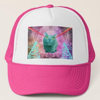 レーザーの目を持つ猫 キャップ