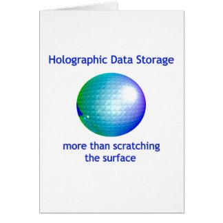 レーザー光線写真データ記憶 カード