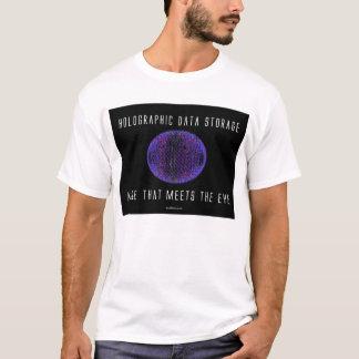 レーザー光線写真データ記憶。 目に会う多く Tシャツ