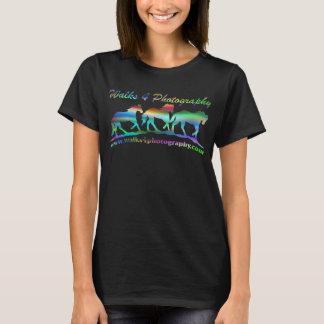 レーザー光線写真効果 Tシャツ