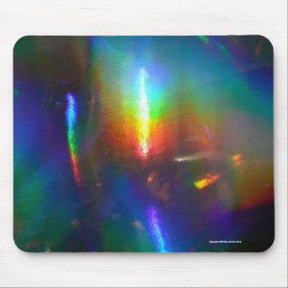 レーザー光線写真炎 マウスパッド