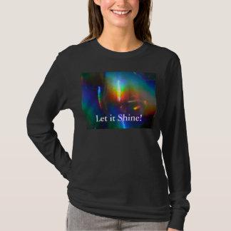 レーザー光線写真炎 Tシャツ
