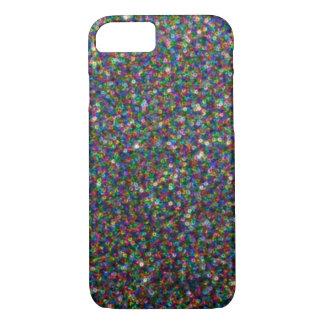 レーザー光線写真虹パターンiPhone 7の場合 iPhone 8/7ケース