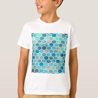 レーザー光線写真蜜蜂の巣! Tシャツ