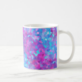 レーザー光線写真輝きパターン コーヒーマグカップ