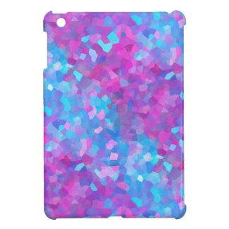 レーザー光線写真輝きパターン iPad MINI カバー