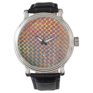 レーザー光線写真金属の写真の多彩なデザイン 腕時計